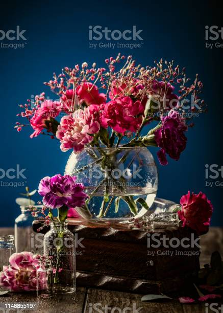 Bouquet of pink carnation