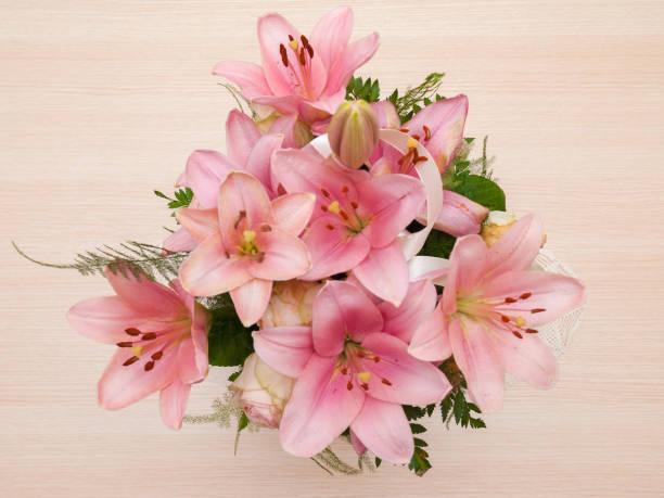 Bouquet von rosa Blumen – Foto