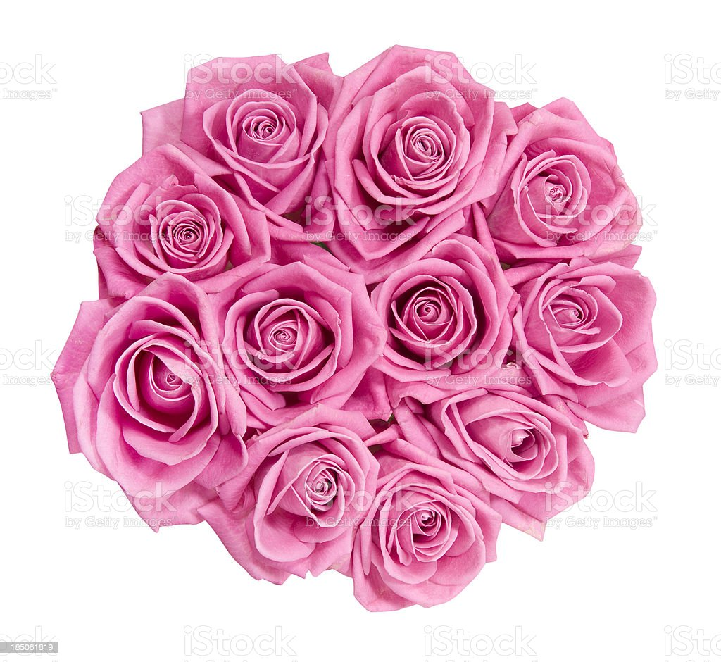 Bouquet Of Pink Roses Stock Photo More Pictures Of Bouquet Istock
