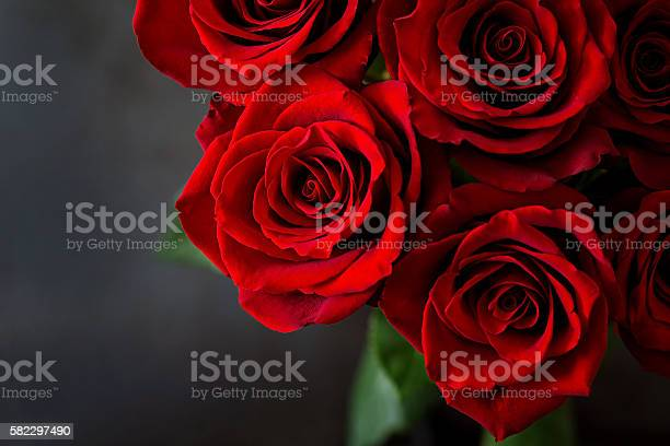 Bouquet of red roses on a black background top view picture id582297490?b=1&k=6&m=582297490&s=612x612&h=d8do6rhsxjn7qi4whklj2oh260 ucdwoivarz qqngm=