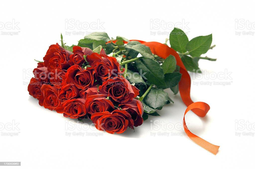 bouquet de roses rouges - Photo