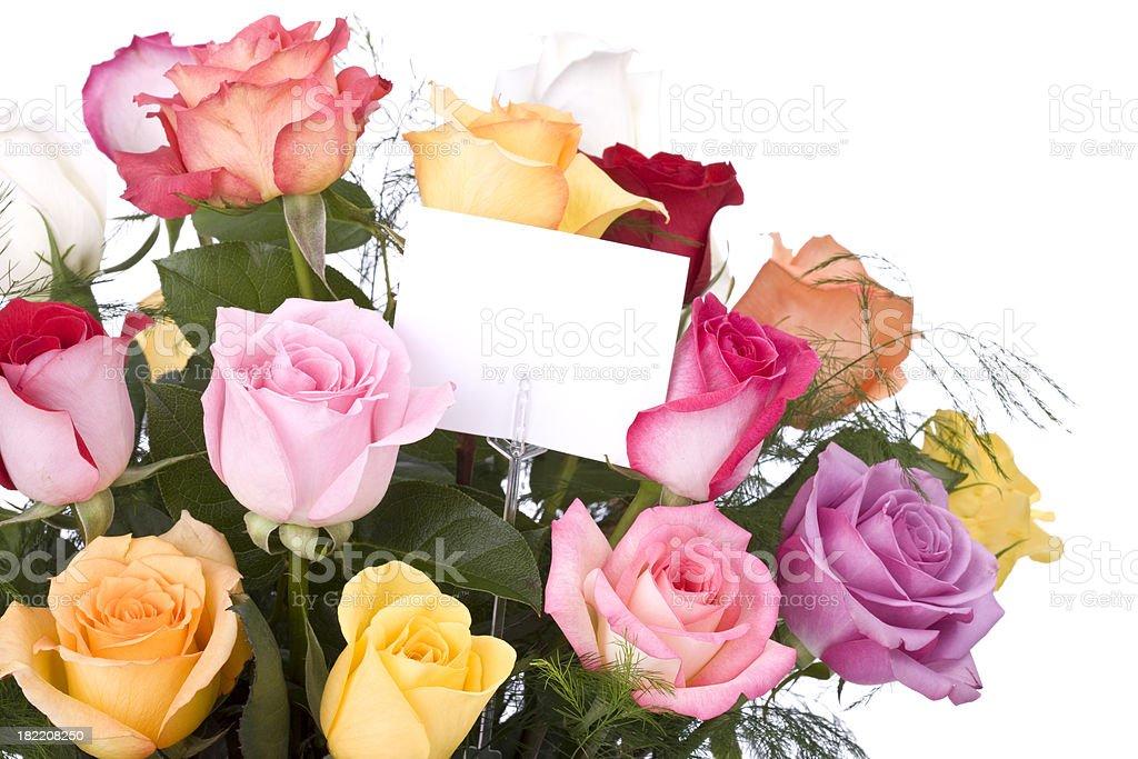 Strauß Rosen - Lizenzfrei Blume Stock-Foto