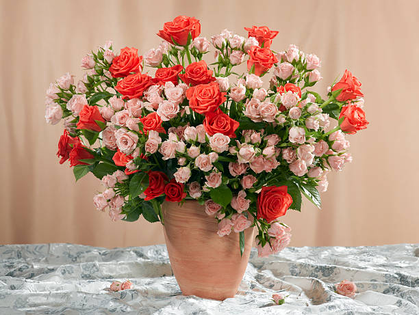 Bouquet of roses. stock photo