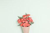 Flower ,composition flatlay