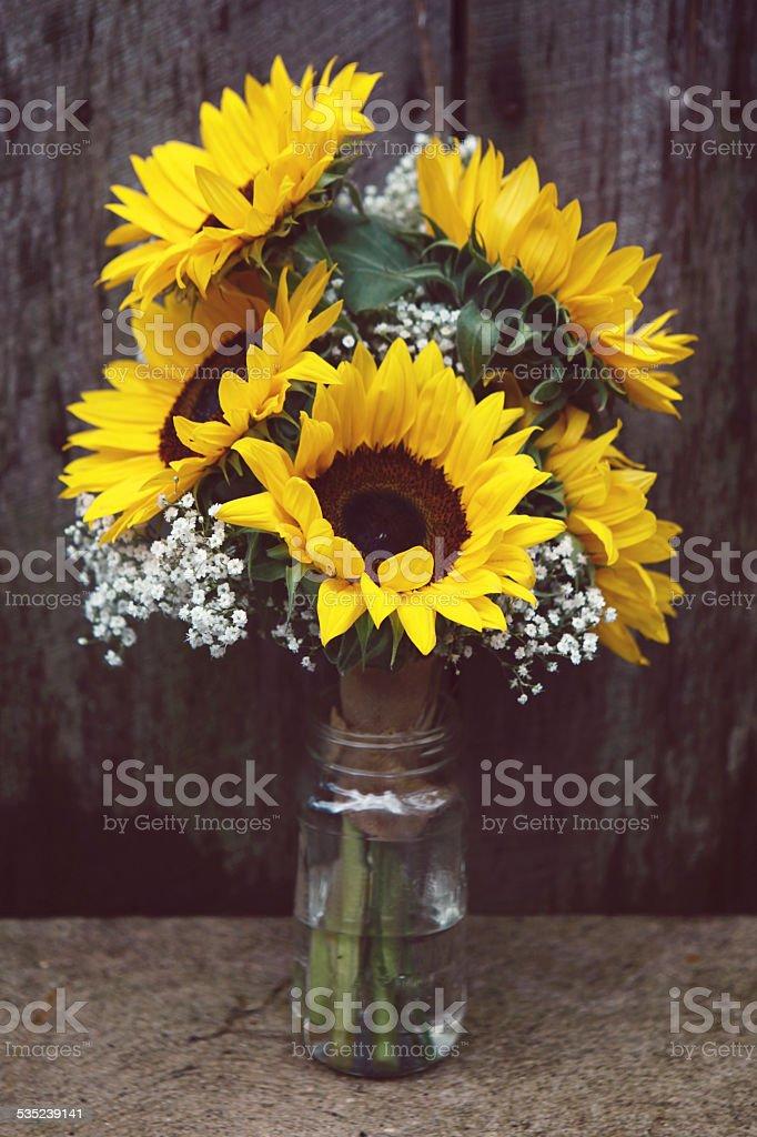 Bouquet de tournesols - Photo