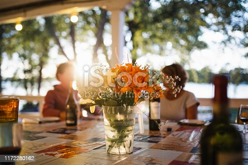 flower, uncultivated, bouquet, river