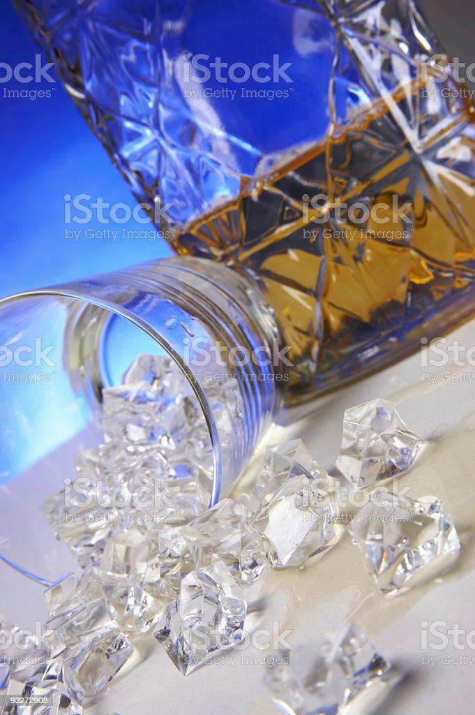 Bourbon Spill royalty-free stock photo