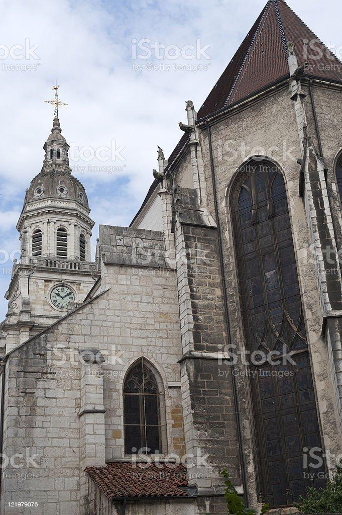 Bourg-en-Bresse (France)-Église - Photo