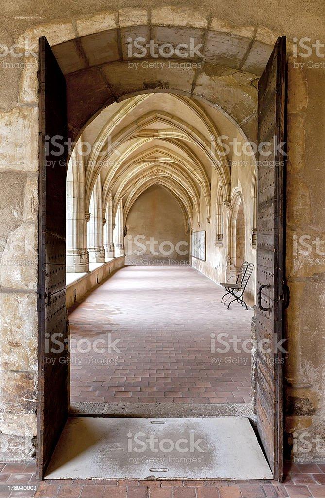 Bourg-en-Bresse, Cloître, ancienne église de Brou - Photo