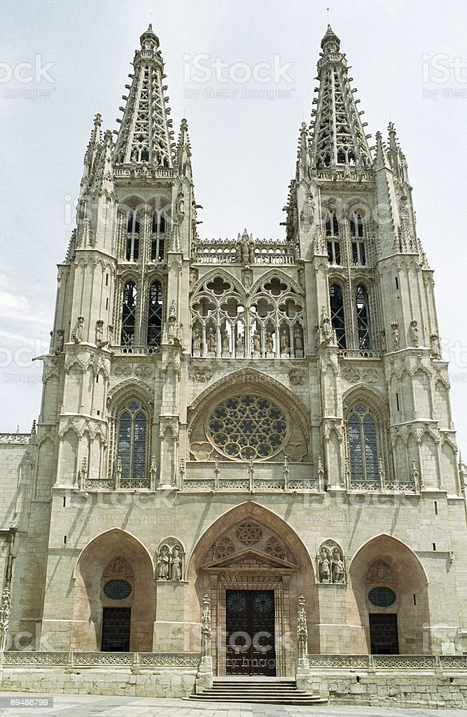 Bourgos cathedral royalty-free stock photo