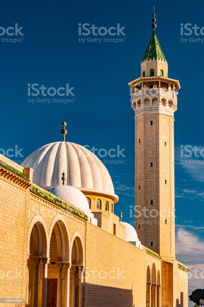 Bourguiba Mosque in Monastir stock photo