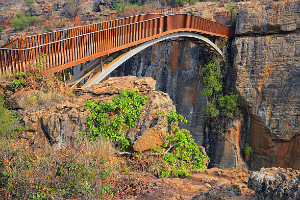 Bourke's Luck bridge stock photo