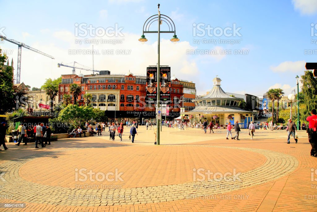 Bournemouth, Dorset. stock photo
