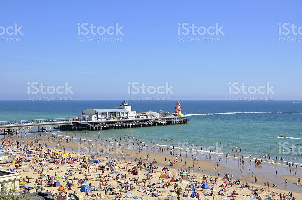 Bournemouth Pier stock photo