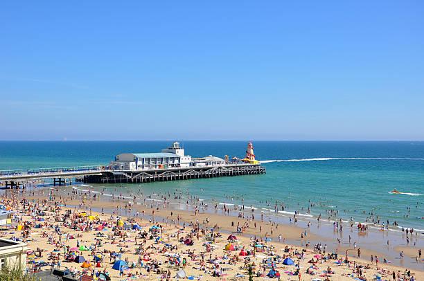 Bournemouth Pier stock photo