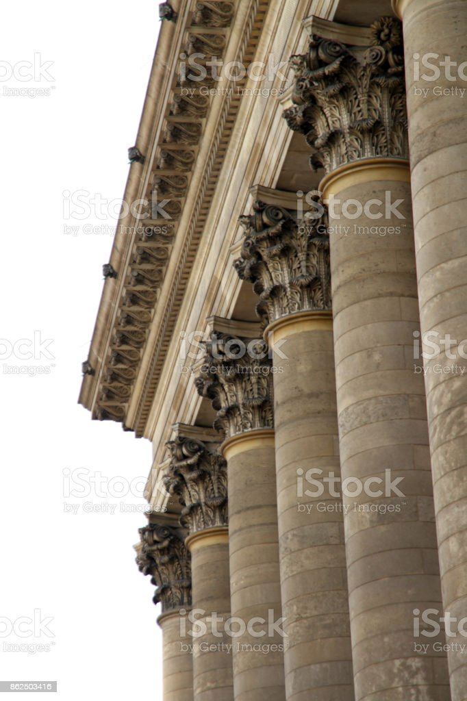 Colonnes de la bourse - Photo
