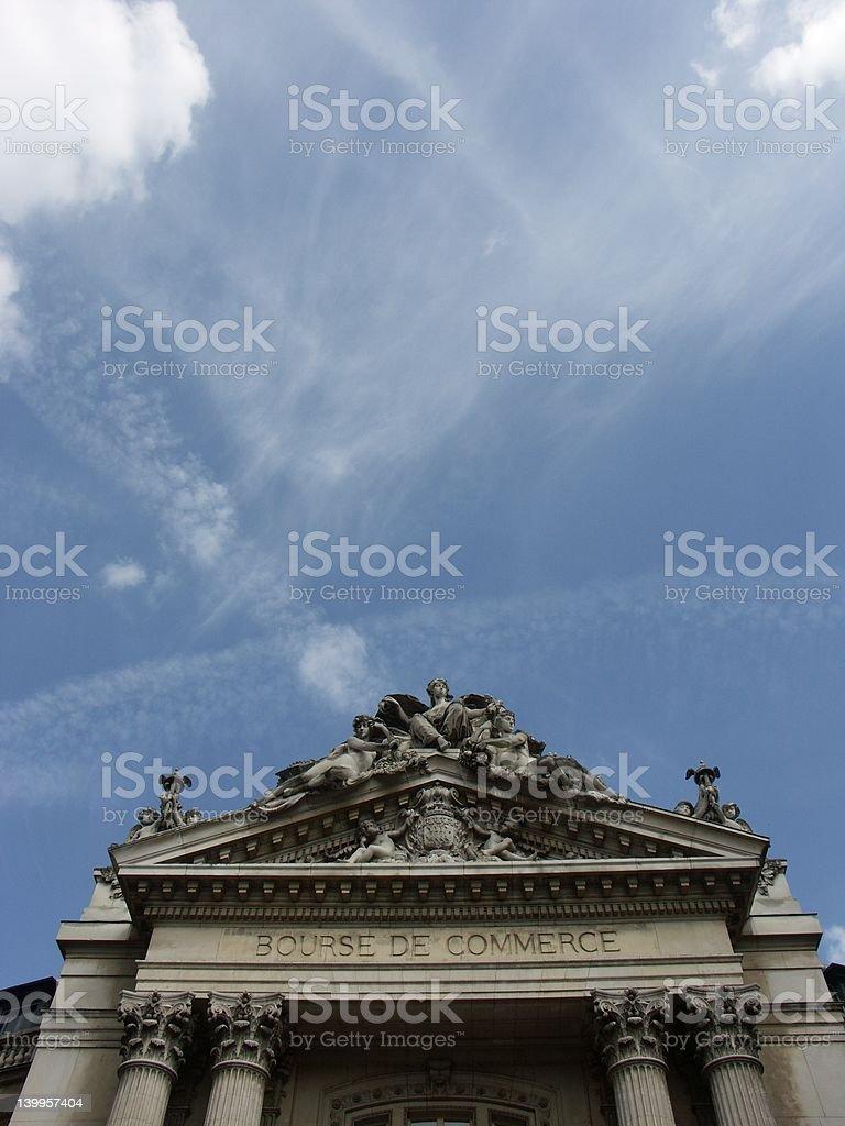 Bourse de commerce, la vieille Bourse de Paris (France - Photo
