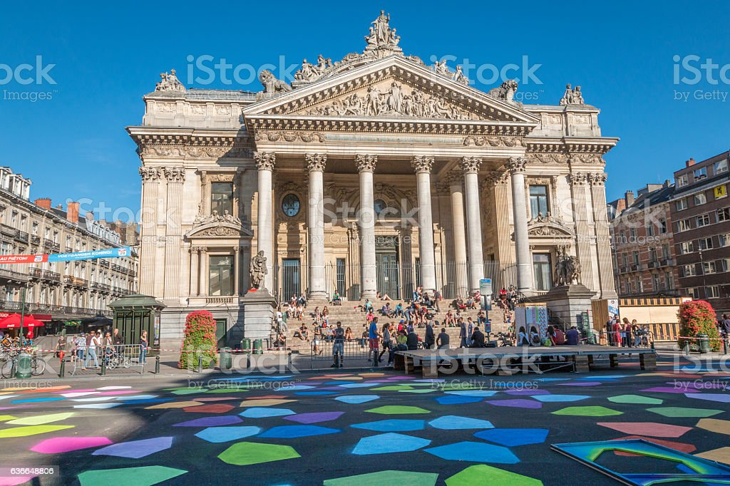 Bourse in Brussels - Photo