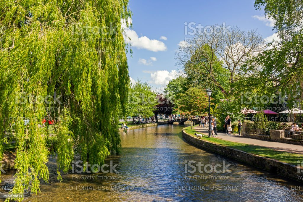 Bourtononthewater Stock Photo - Download Image Now