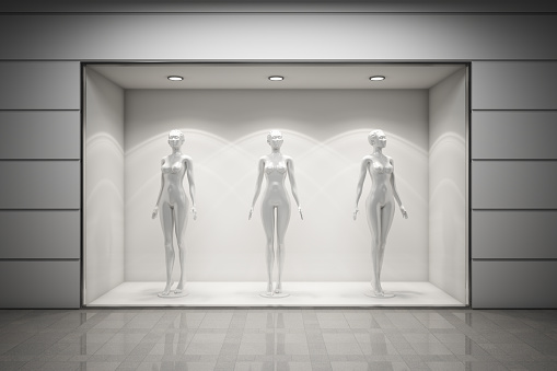 Boutique display window