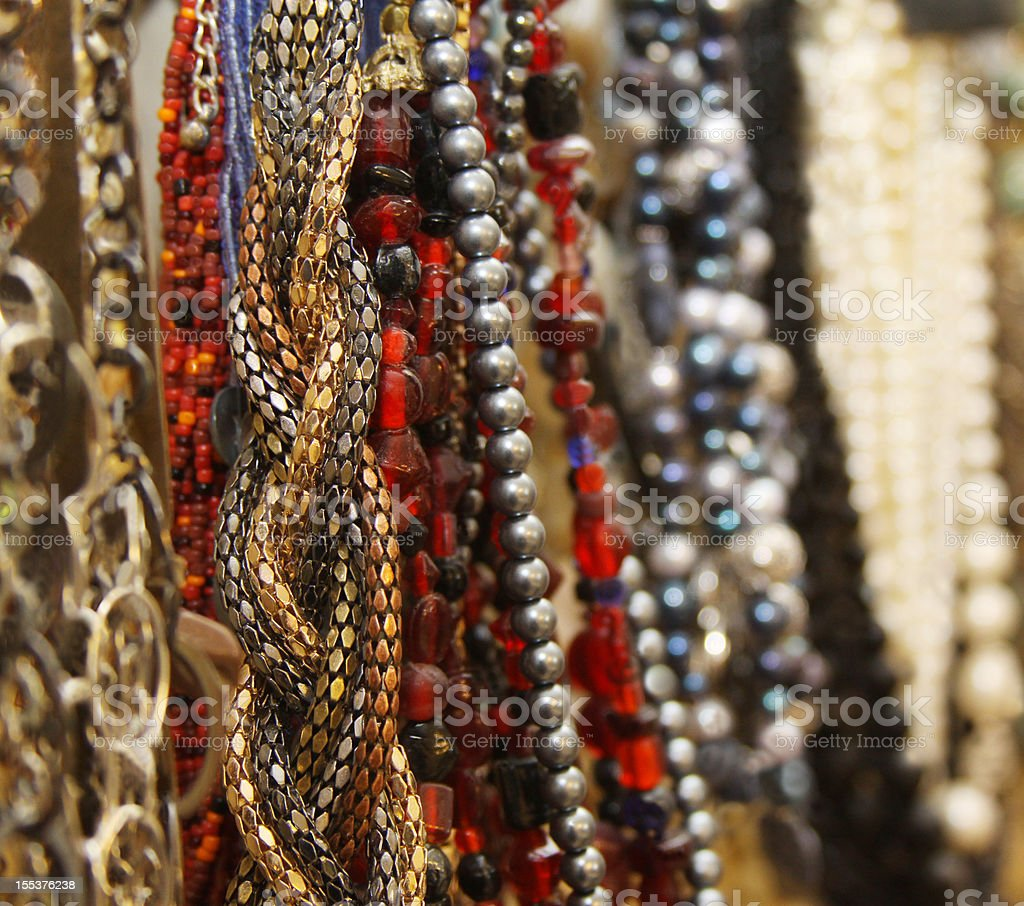 Boutique Jewelry royalty-free stock photo