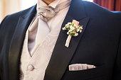 istock boutonniere in tuxedo 656395668