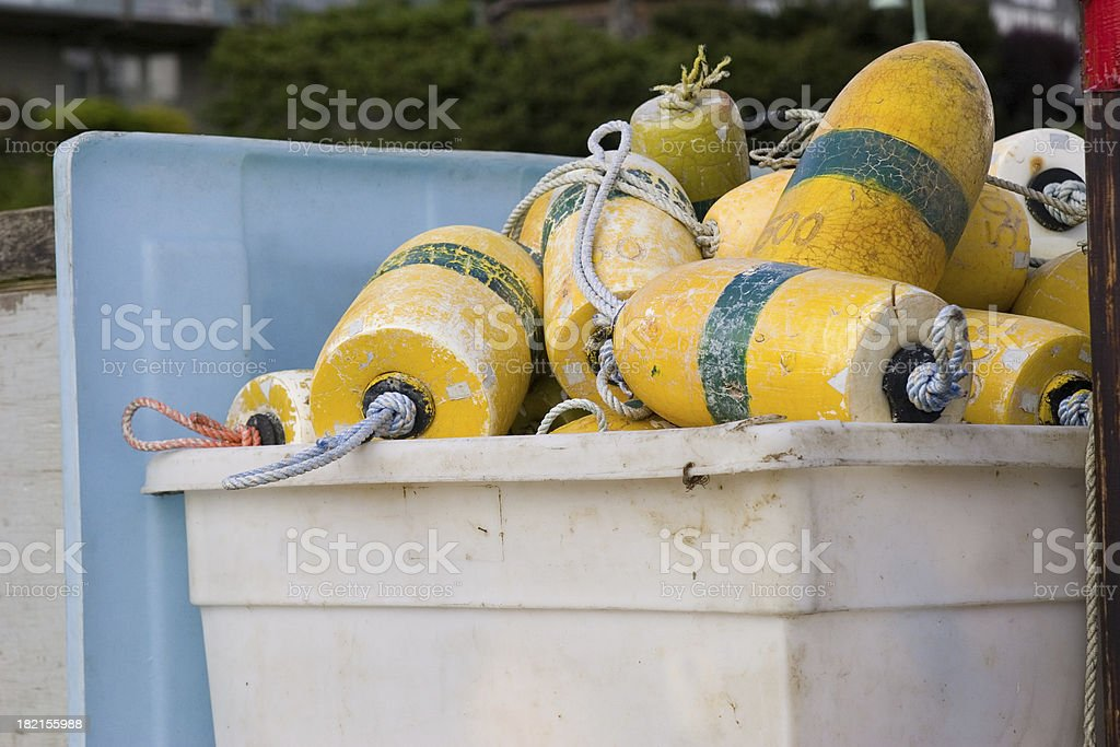 Bouys stock photo