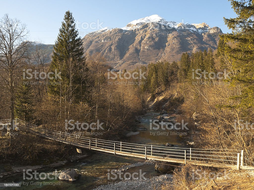 Bovec royalty-free stock photo