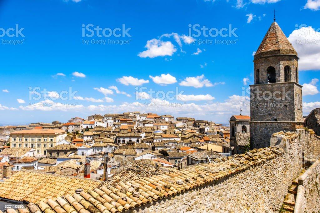 Bovino - Foggia province - Apulia region - Italy stock photo