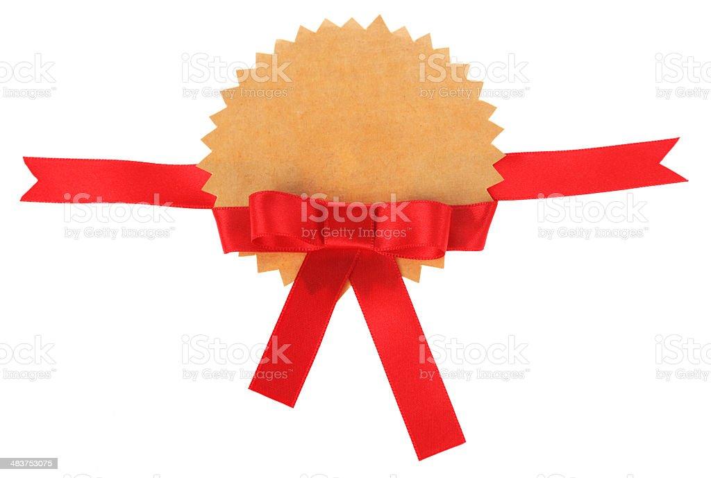 Bow Award royalty-free stock photo