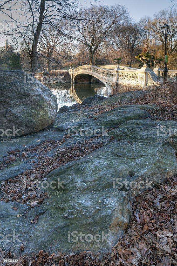 Bow bridge royalty-free stock photo