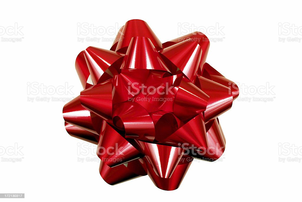 Bow from Top royalty-free stock photo