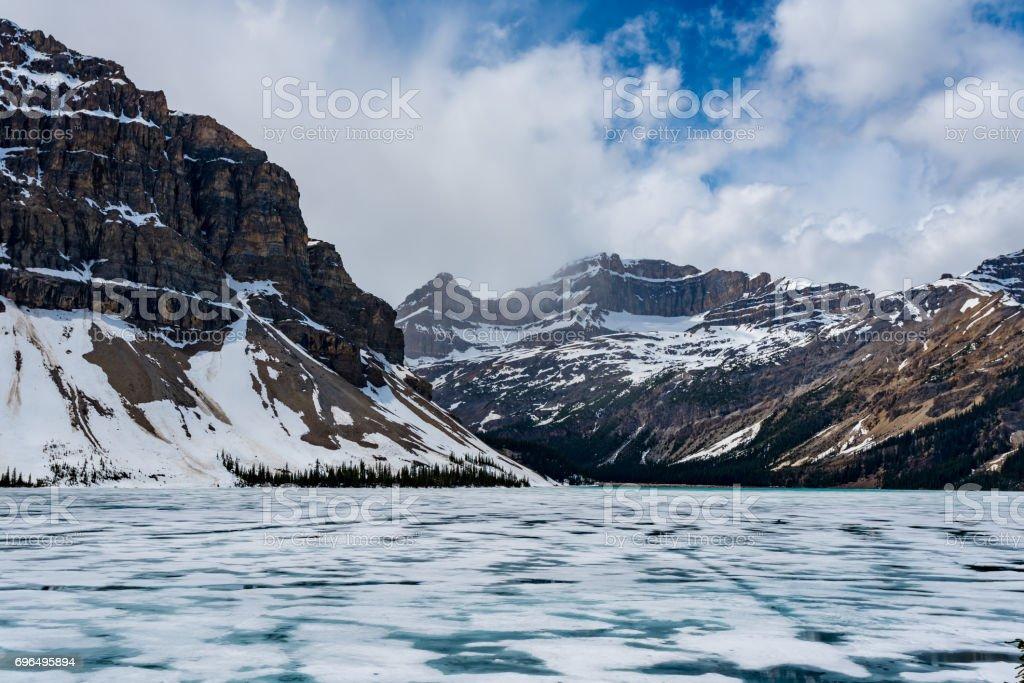 Bow Lake stock photo