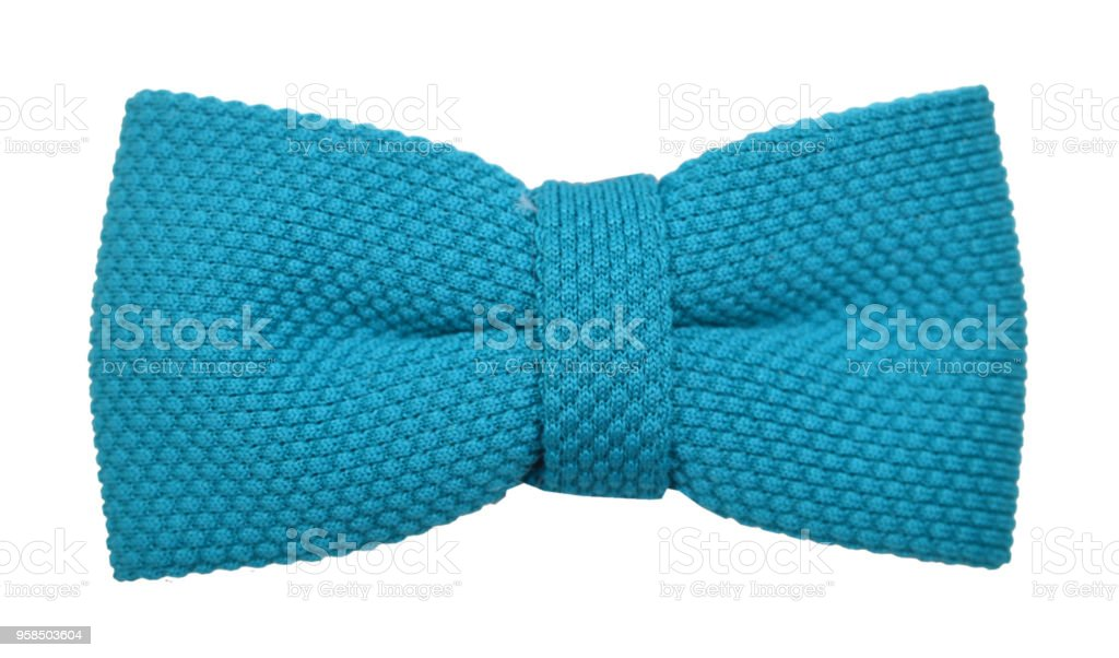 Bow tie isolated on the white stock photo