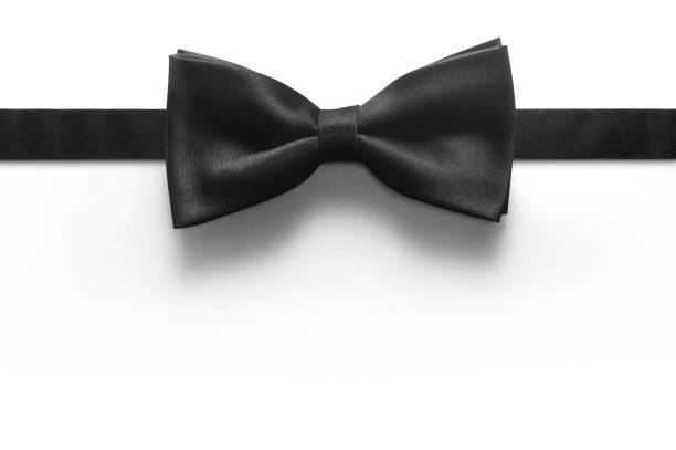 Bow tie isolated on white background stock photo