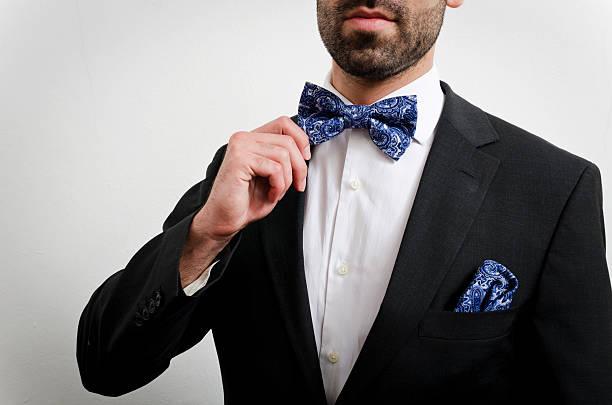 bow tie stock photo
