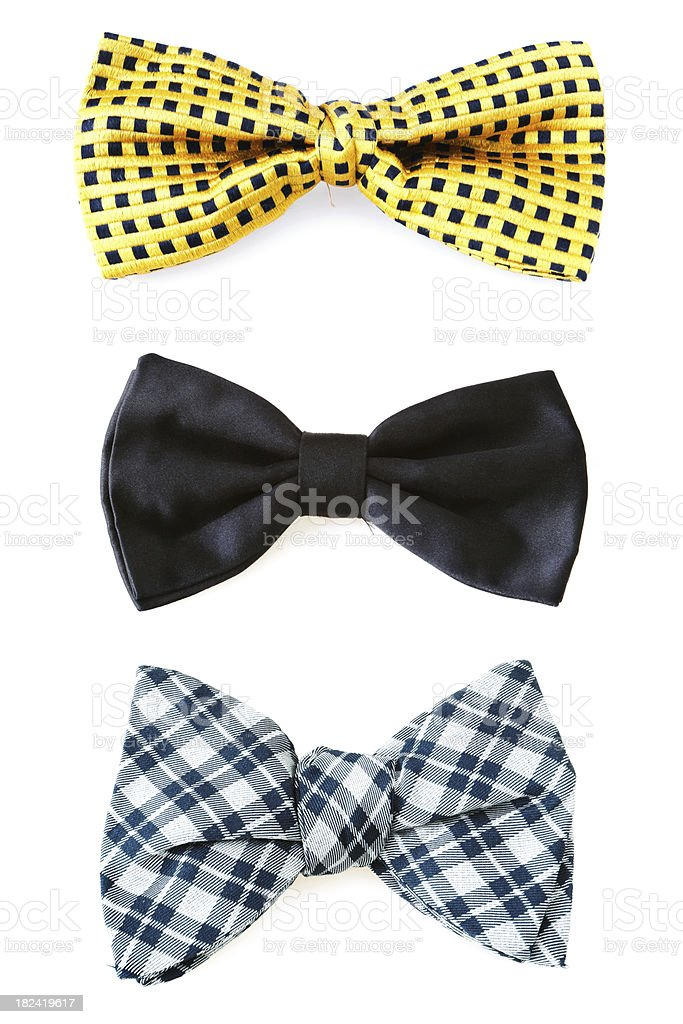 Bow Ties stock photo