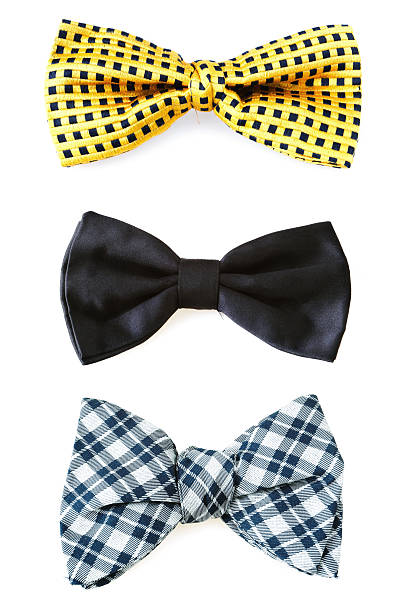 Bow Ties Bow ties isolated on white. bow tie stock pictures, royalty-free photos & images