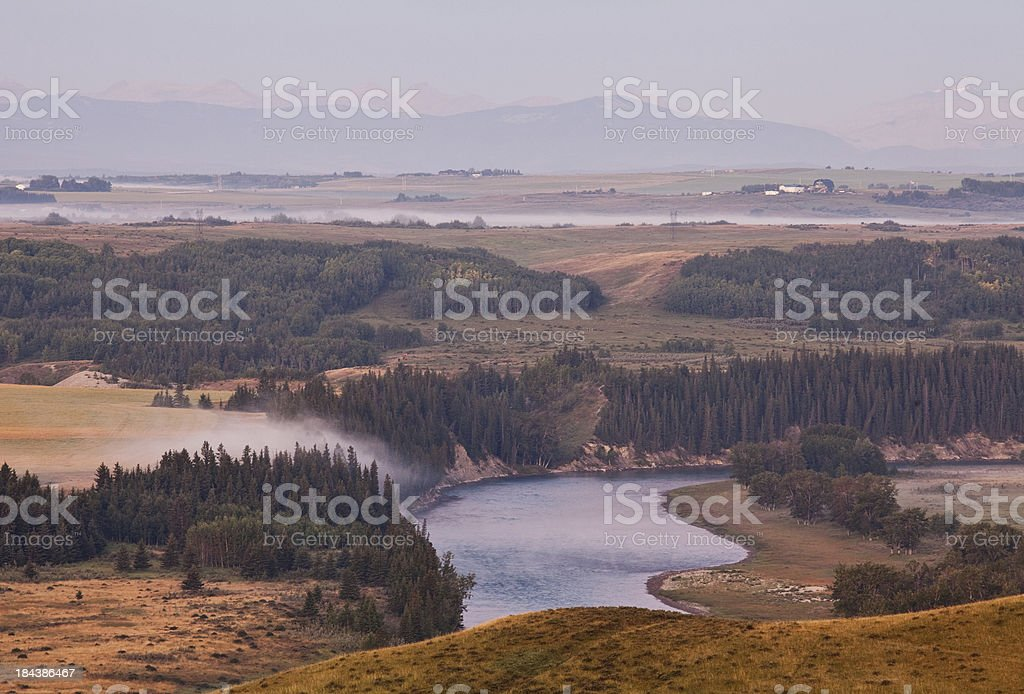 Bow Valley stock photo