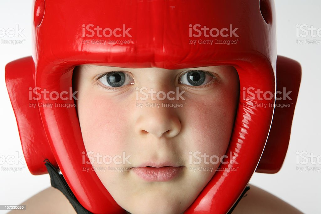 bow with helmet royalty-free stock photo