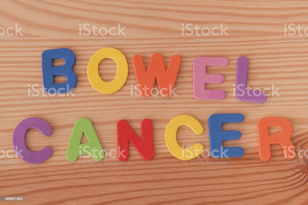 Bowel Cancer stock photo