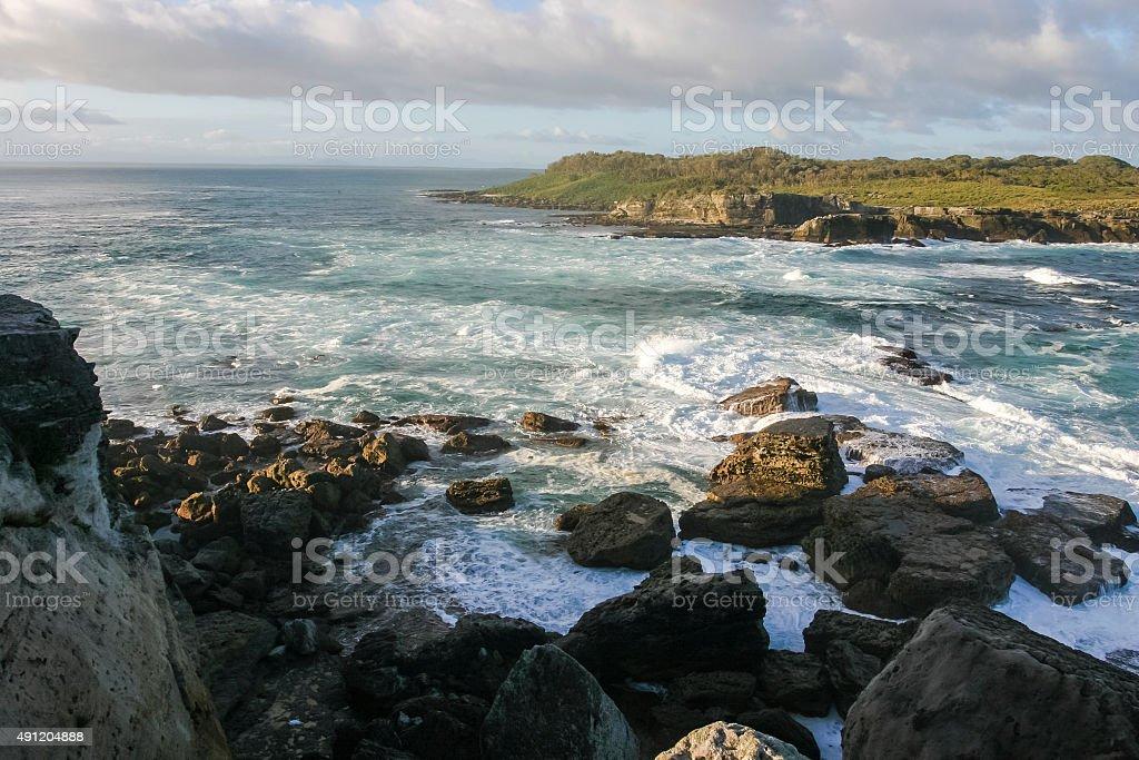Bowen island. Booderee National Park. NSW. Australia. stock photo