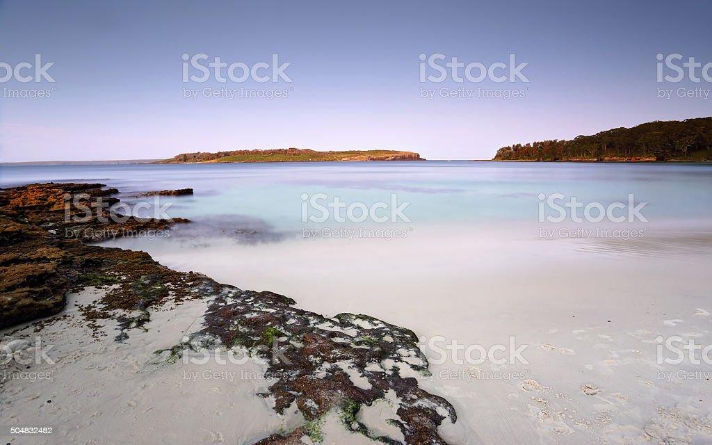Bowen Island Jervis Bay Australia stock photo