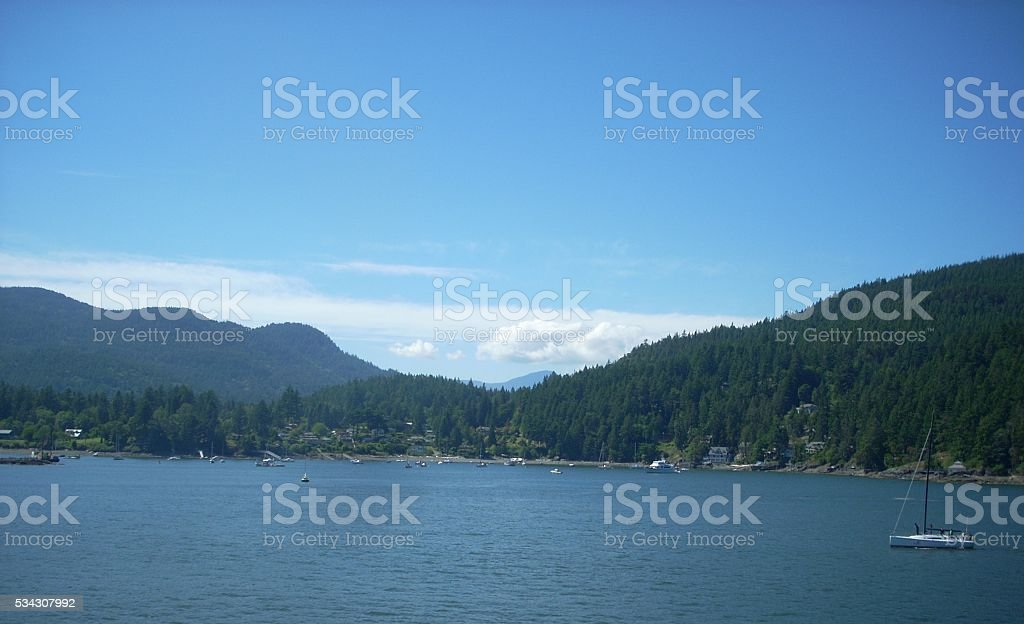 Bowen Island stock photo