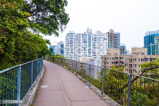 Bowen Road Fitness Trail in Hong Kong, China