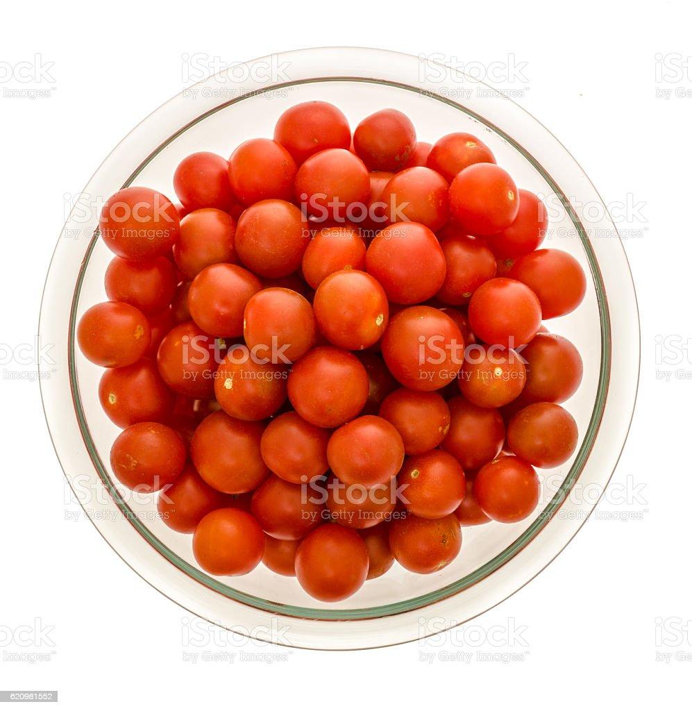 Bowl Cherry tomato foto royalty-free