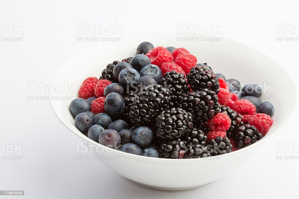 Bowl of Berries royalty-free stock photo