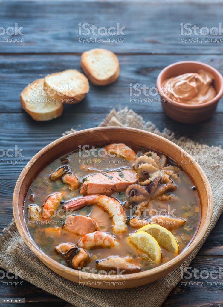 Bowl of Bouillabaisse – Foto
