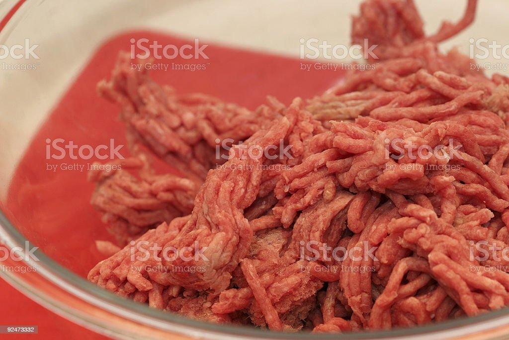 Bowl of Burger royalty-free stock photo