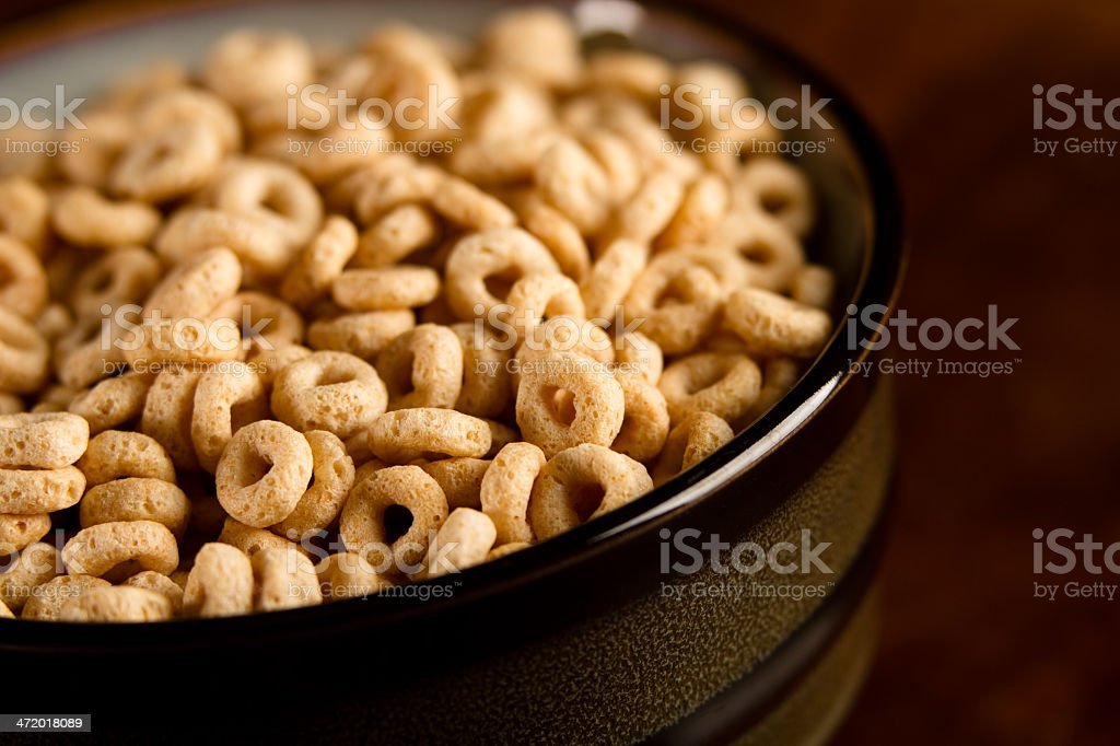 Bowl Of Cereal stock photo